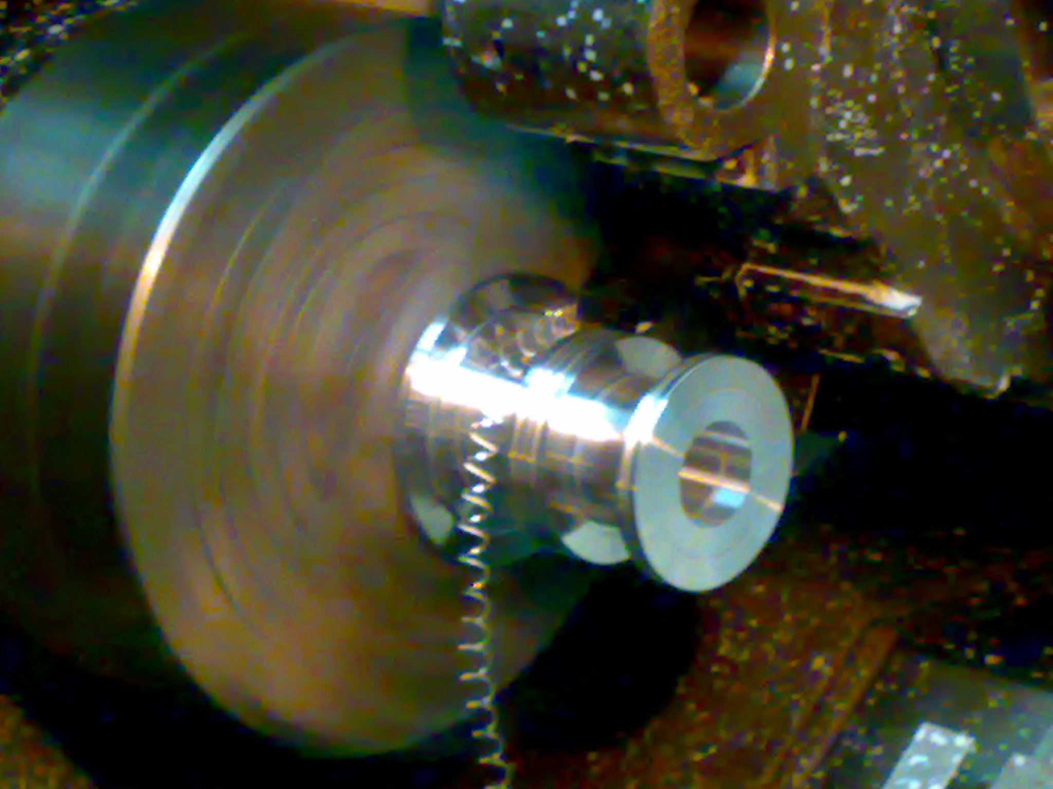 MG-3 Air bearing on CNC